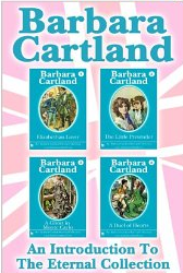 4 Books, 988 pages, 99 cents by one of the most prolific writers of all time, Barbara Cartland. (Photo is link to Amazon)